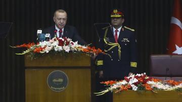 Erdoğan: Harem-i Şerifi İsrail'in zulmüne terk etmeyeceğiz