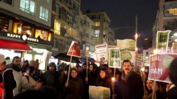 Kanal İstanbul protestosuna polis müdahalesi