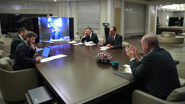İnfaz yasası için telekonferans toplantı