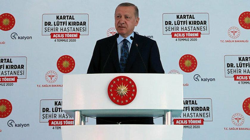 Erdoğan: Toparlayın götürün