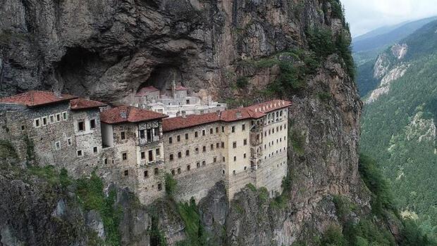 Sümela Manastırı'nın tanıtımı için internet sitesi açıldı