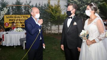 Düğün saloonu denetledi 3 çocuk tavsiye etti