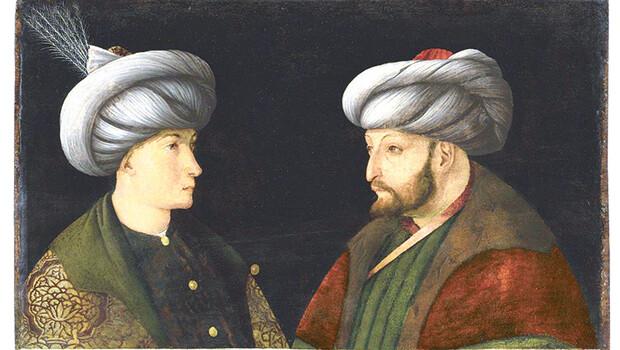 Fatih Sultan Mehmet portresi İstanbul'da