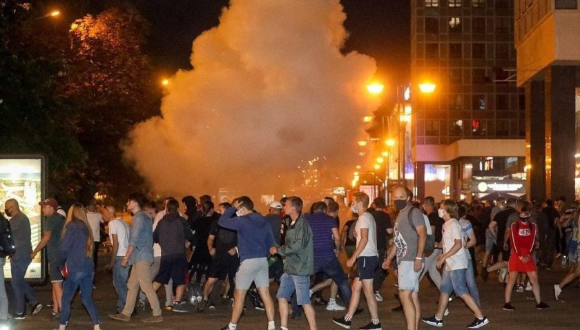 Minsk'te peş peşe patlama