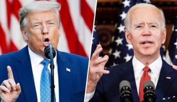 """Trump Biden için """"Dinsiz"""" dedi"""
