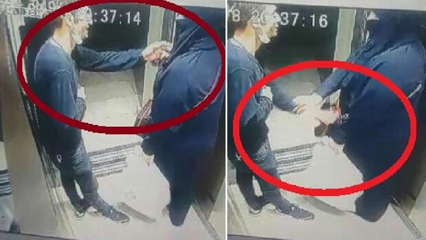 Asansörde taciz skandalı: Şikayetçi olmadı!