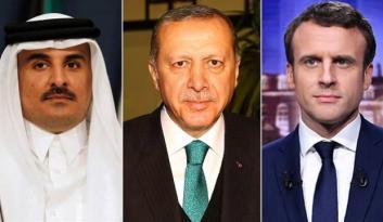 Katar Emiri'nden Macron'a: Yapamam! Erdoğan ölene kadar benim babamdır
