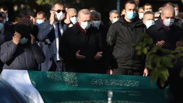 Bakan Pekcan'ın acı günü! Cenaze törenine Cumhurbaşkanı Erdoğan da katıldı…