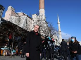 Erdoğan'dan 2021'in ilk açıklaması