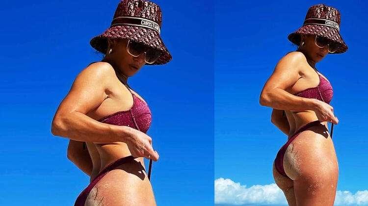 Jennifer Lopez sosyal medyayı salladı