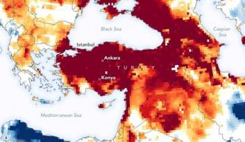 NASA harita yayınlayıp Türkiye'yi uyardı: Ciddi tehlike altındasınız