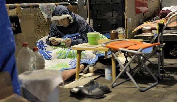 Pandemi Japonya'daki gizli yoksulluğu ortaya çıkardı