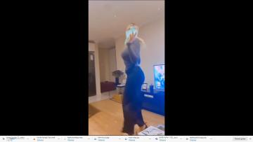 Sosyal medyada dans eden spiker kovuldu