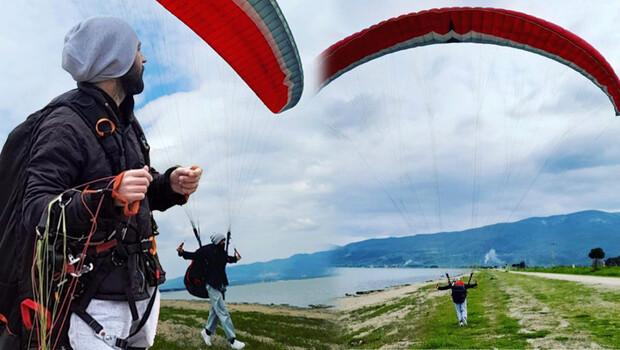 Gürle Dağı'ndan atlayan paraşütçü kayıp
