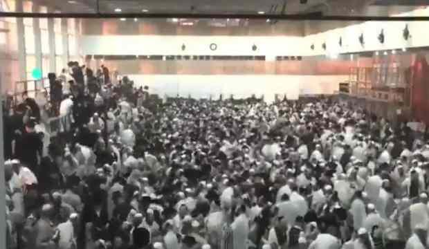 İsrail'de ayin sırasında facia