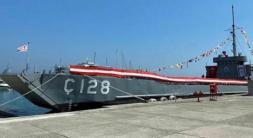 """Müzelik gemideki """"128"""" ibaresi silindi..!"""