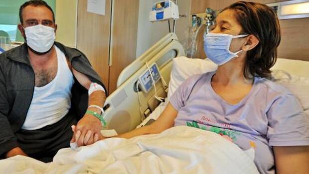"""""""Tatile gidiyoruz"""" diyerek hastaneye getirdiği eşine böbreğini verdi"""